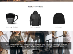 Online Store NCA featured products