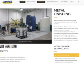 Kontek indicial website optimization  – Metal Finishing