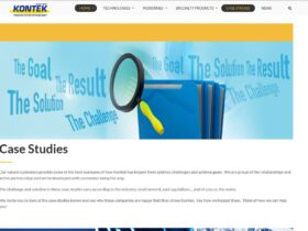 Kontek indicial website optimization  – Case studies main