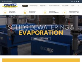 Kontek indicial website optimization  – Solids dewatering