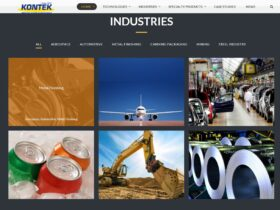 Kontek indicial website optimization  – Industries